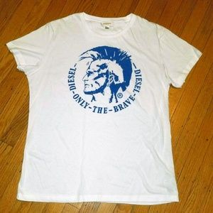 DIESEL Mohawk Graphic T-Shirt | XL | NWOT